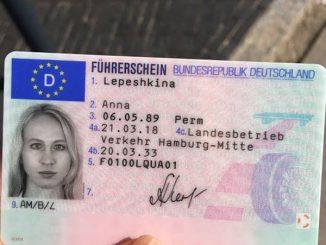 Führerschein ohne Fahrprüfung kaufen
