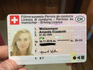 Schweizer Führerschein online kaufen